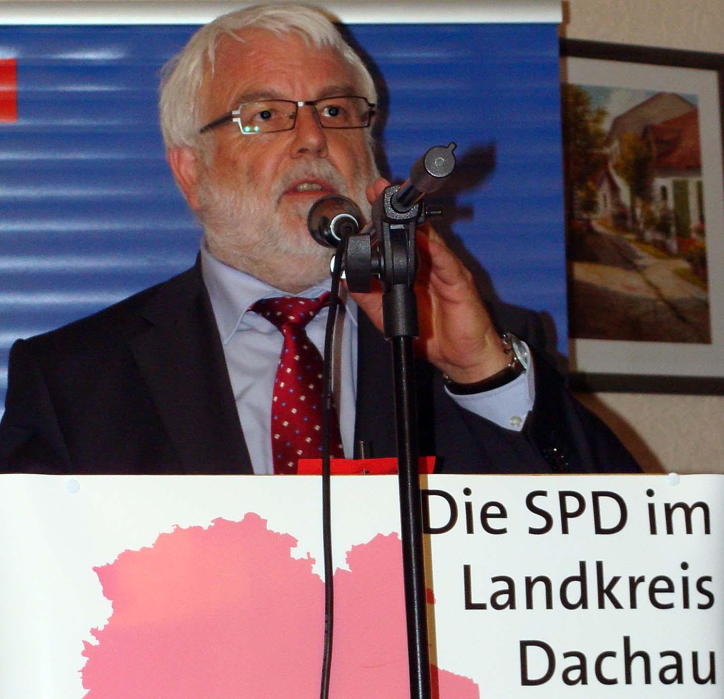 Alter und neuer SPD-Chef im Kreis Dachau ist MdL Martin Güll