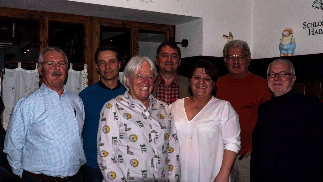 SPD Vorstand Haimhausen 2019