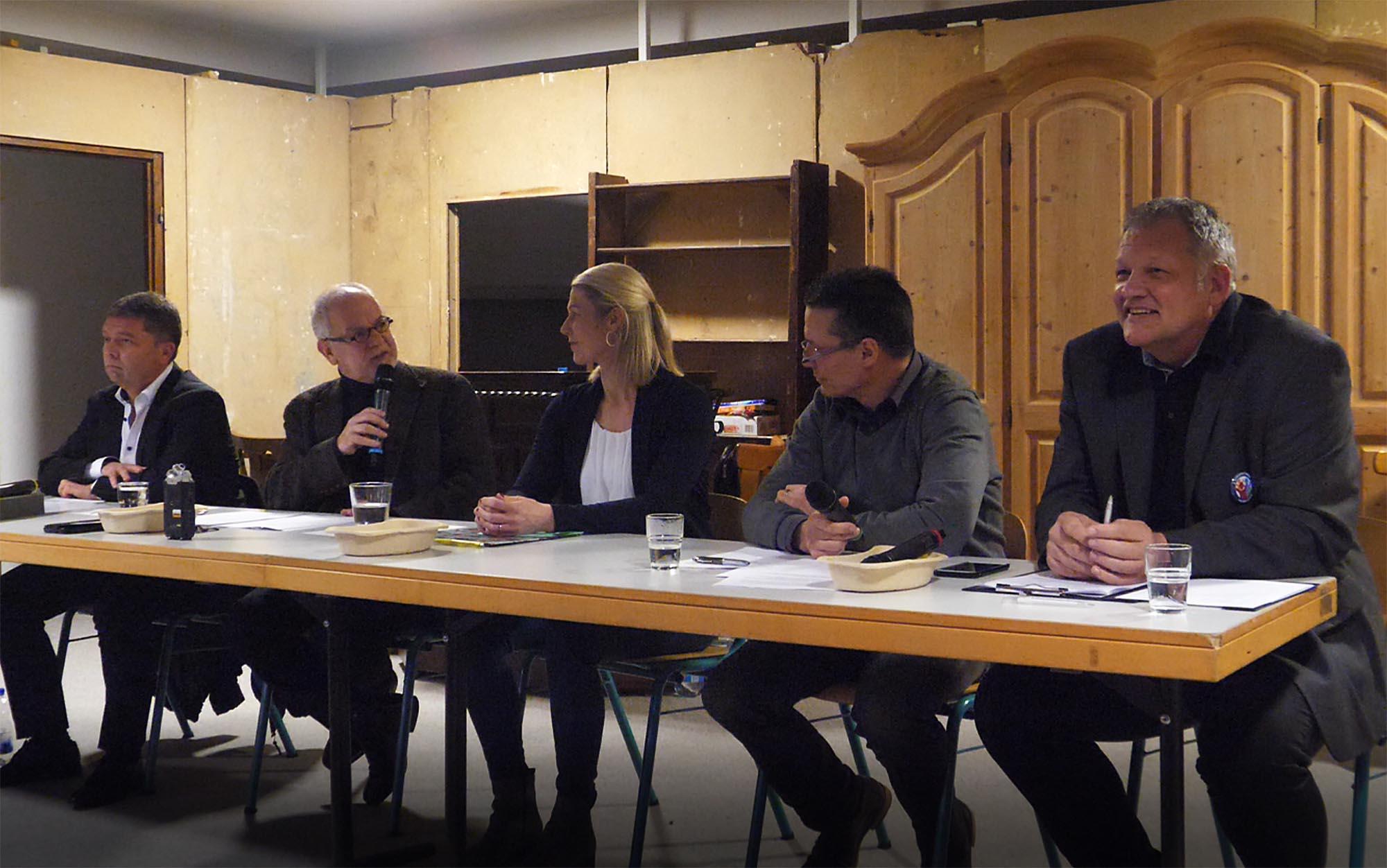 Diskussion der Bürgermeisterkandidaten in Haimhausen